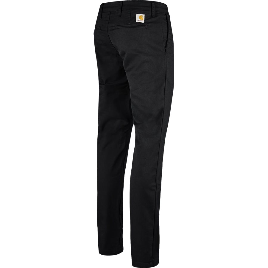 SID PANT I003367 - Sid Pant - Bukser - Slim - BLACK RINSED - 2